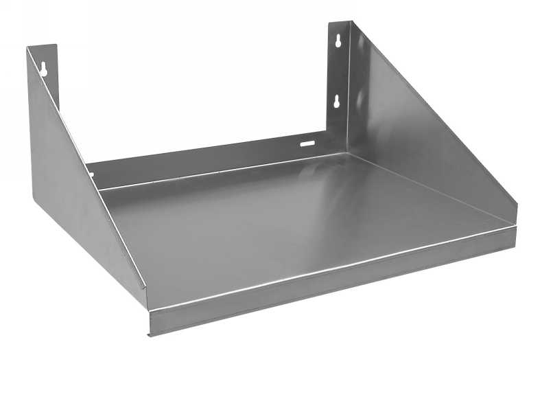 Stainless Wall Shelves