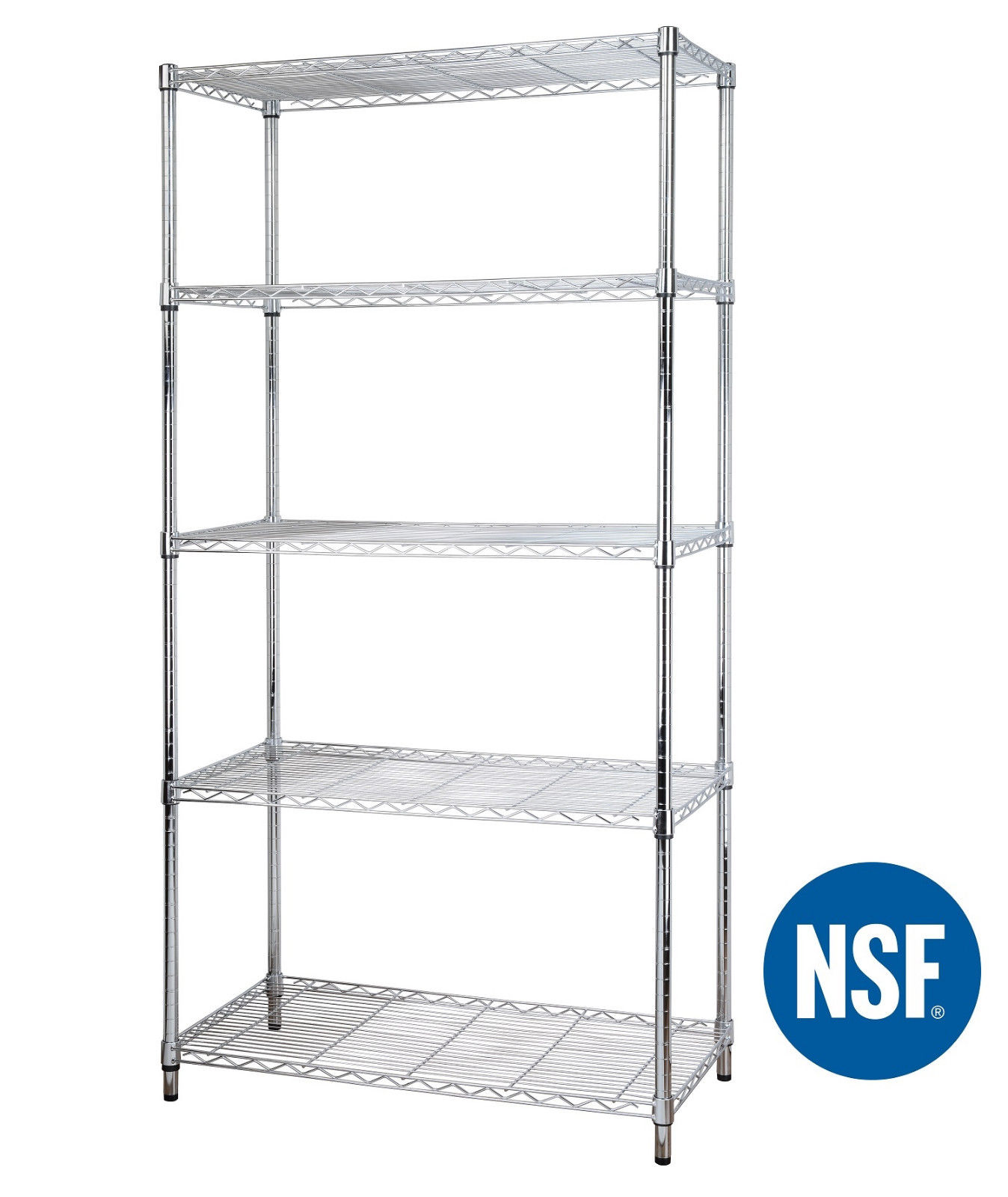Coated Wire Shelves