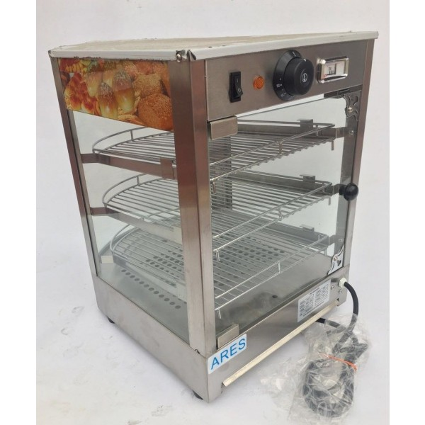 Glass Food Warmers ~ Commercial counter top food warmer glass display case