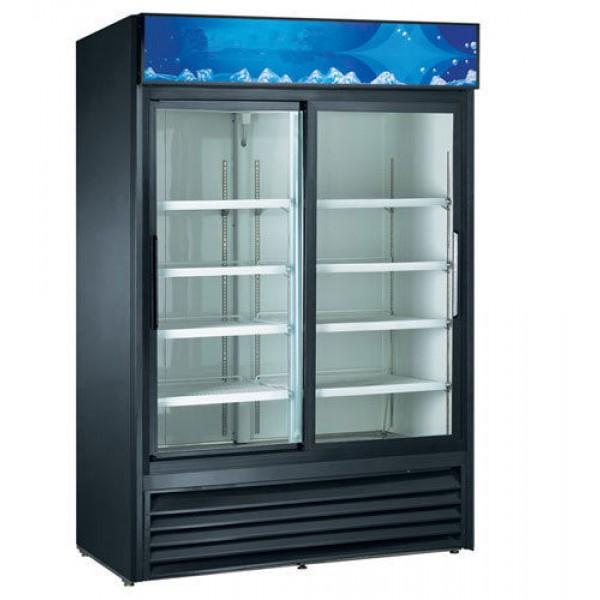 Double Sliding Glass Door Cooler