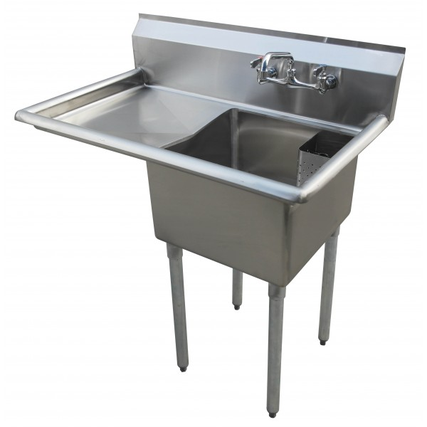 Sink(One Compartment_ Left Drainboard 01)
