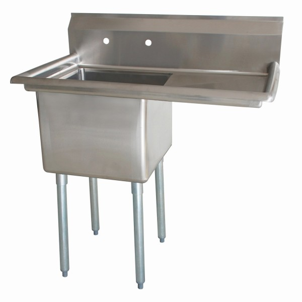 Sink(One Compartment_ Right Drainboard)