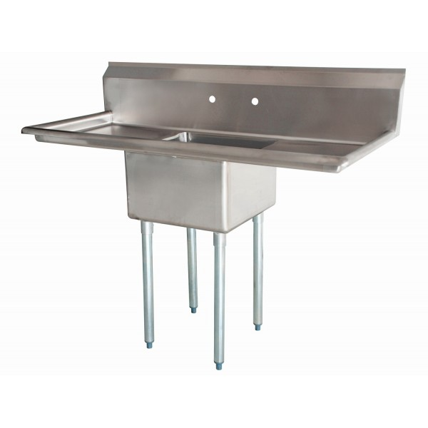 Sink(One Compartment_ Two Drainboard)