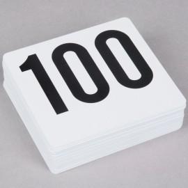 1-100 Number Card