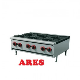 3_ Six-Burner Gas Stove