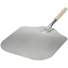 Aluminum Pizza Peel With Wood Handle