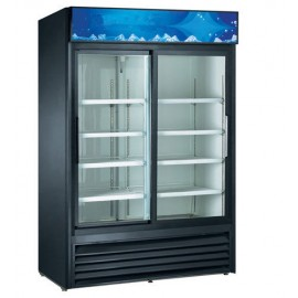 Double Sliding Glass Door Cooler