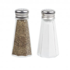 Glass  Salt Peper Shaker 3 OZ