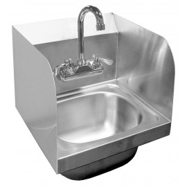 Hand Sink With Splash Guards