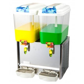 4.75 Gallon Dual Fruit Juice / Beverage/ Ice Tea Dispenser