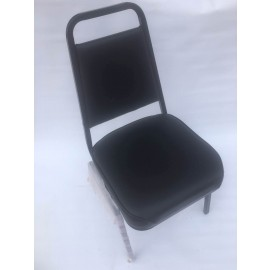 Stackble Chair Black