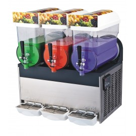 Three-Tank  Slush Dispenser